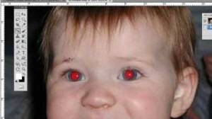 efek red eye